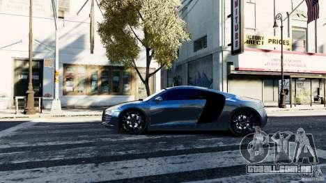Audi R8 Spider 2011 para GTA 4 esquerda vista