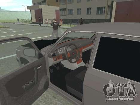 GAZ Volga 31105 restyling para GTA San Andreas vista traseira