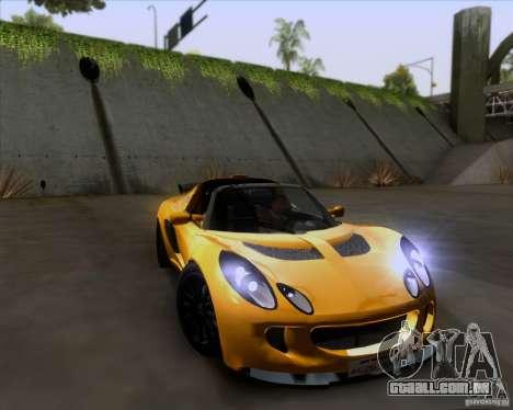 Lotus Exige para vista lateral GTA San Andreas