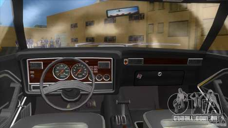 Ford Mustang Cobra 1976 para GTA Vice City vista traseira esquerda