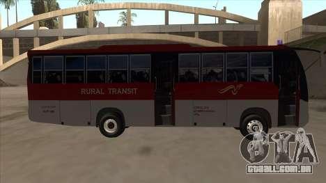 Rural Transit 10206 para GTA San Andreas traseira esquerda vista