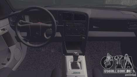 Volkswagen Passat B3 v2 para GTA San Andreas vista traseira