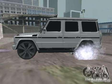Mercedes-Benz G500 Kromma 1480 para GTA San Andreas esquerda vista