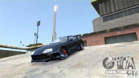 Toyota Supra RZ 1998 v 2.0 para GTA 4 vista de volta