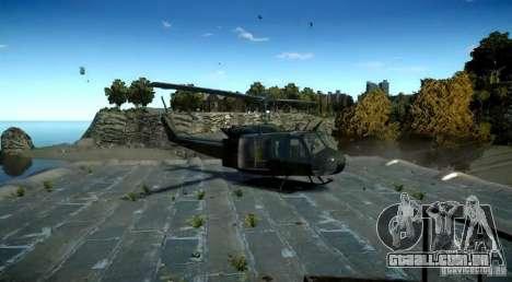 Bell UH-1D German Bundeswehr para GTA 4 traseira esquerda vista