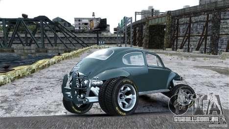 Baja Volkswagen Beetle V8 para GTA 4 vista lateral