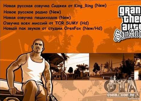 Music Life 2 para GTA San Andreas