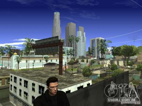 Claude HD Remake (Beta) para GTA San Andreas por diante tela