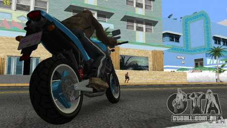 PCJ 600 para GTA Vice City deixou vista