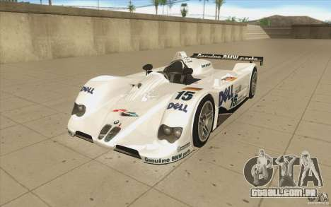 BMW V12 LeMans - Stock para GTA San Andreas