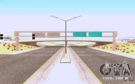 Asfalto de HQ em Las Venturase para GTA San Andreas