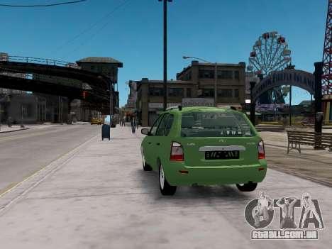 1117 LADA perua Viburnum para GTA 4 traseira esquerda vista