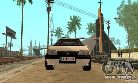 Opel Kadett E para GTA San Andreas vista direita
