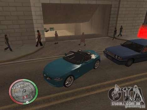 Car shop para GTA San Andreas sexta tela