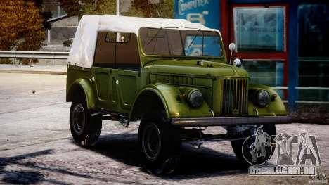 Gaz-69A, 1965 para GTA 4 vista de volta