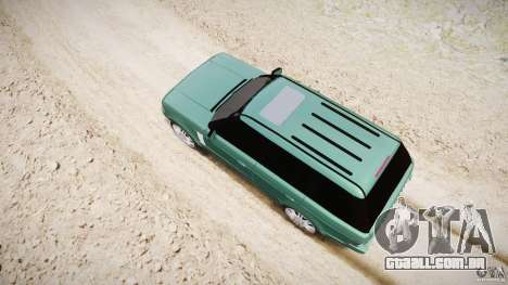 Range Rover Vogue para GTA 4 interior