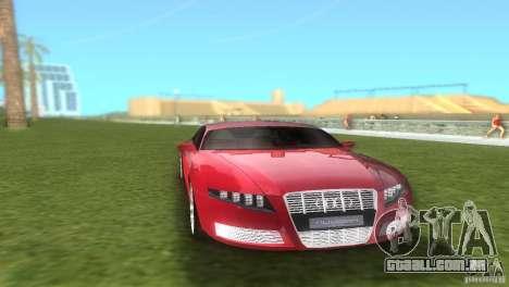 Audi Nuvolari Quattro para GTA Vice City vista traseira
