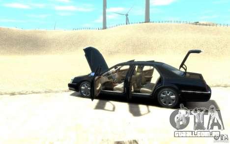 Cadillac DTS v 2.0 para GTA 4 vista direita