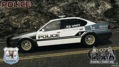 LCPD K9 Unit para GTA 4 esquerda vista