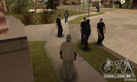 Cop Homies para GTA San Andreas segunda tela