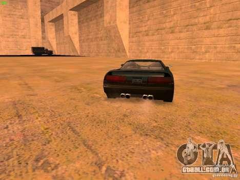 Infernus Revolution para GTA San Andreas interior