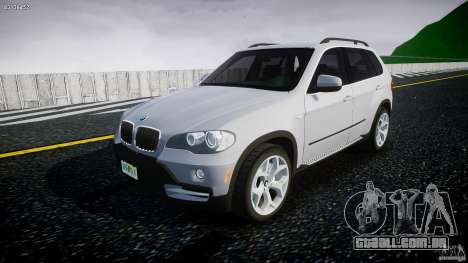 BMW X5 Experience Version 2009 Wheels 214 para GTA 4