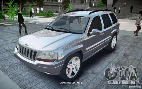 Jeep Grand Cheroke para GTA 4