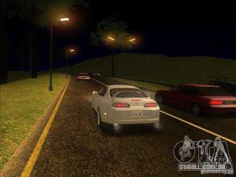0,075 ENBSeries para PC fraco para GTA San Andreas terceira tela