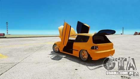 Honda Civic Tuned para GTA 4 vista direita