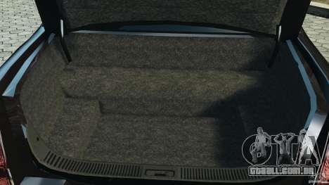Lincoln Town Car Limousine 2006 para GTA 4 vista superior