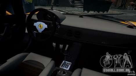 Ferrari F50 1995 para GTA 4 vista lateral