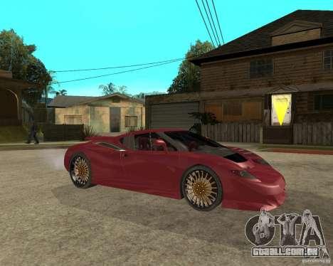 B-Engineering Edonis para GTA San Andreas vista direita