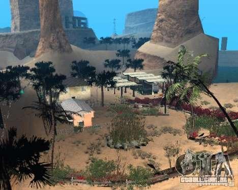 Modern Bone Country para GTA San Andreas nono tela