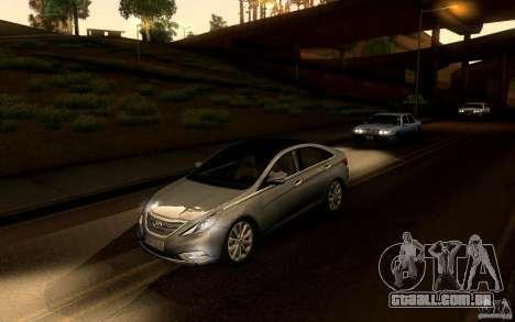 Hyundai Sonata 2011 para GTA San Andreas vista direita