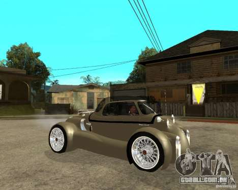 Messerschmitt GT500 Tiger Hard tuned para GTA San Andreas vista direita