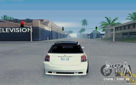 Benefactor Serrano Modder para GTA San Andreas vista direita