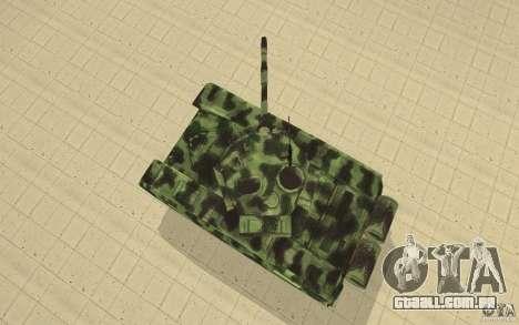 Tanque T-72 para GTA San Andreas vista direita