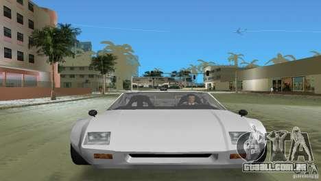 De Tomaso Pantera para GTA Vice City vista traseira esquerda