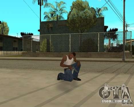 Armas de STALKERa para GTA San Andreas oitavo tela
