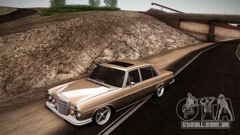Mercedes Benz 300 SEL - Custom RC3D Edit para GTA San Andreas esquerda vista