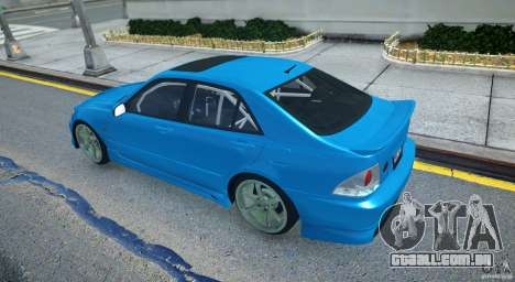 Toyota Altezza para GTA 4 vista direita