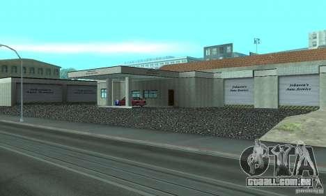 Johnsons Business (Johnsons Auto Service) para GTA San Andreas