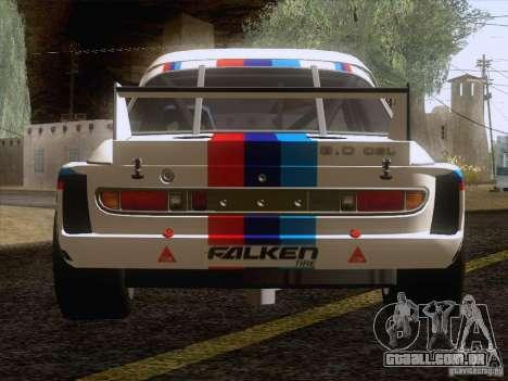BMW CSL GR4 para GTA San Andreas vista traseira