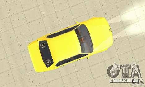 BMW 750I E32 para GTA San Andreas vista direita