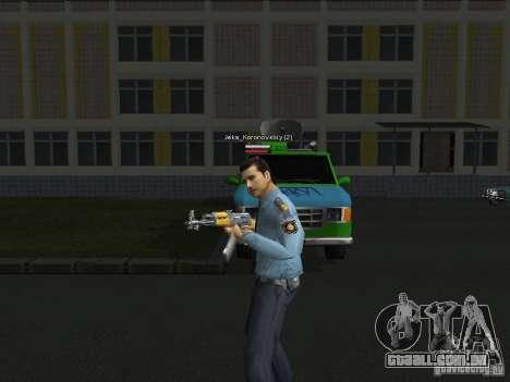 Peles de milícia para GTA San Andreas segunda tela