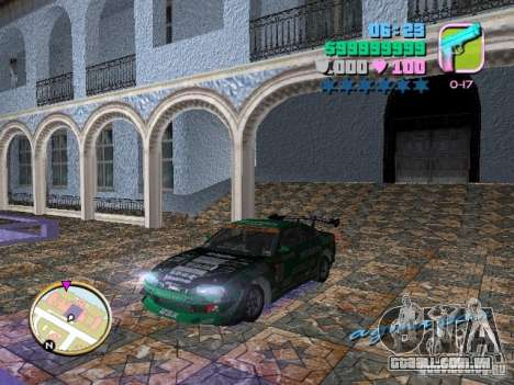 Nissan Silvia S15 Kei Office D1GP para GTA Vice City