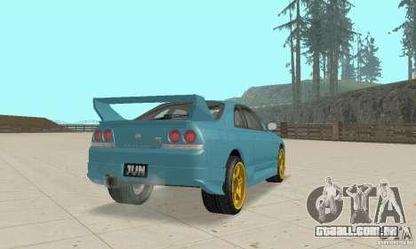 Nissan Skyline R33 Tuning para GTA San Andreas