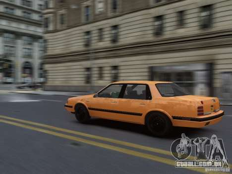 Oldsmobile Cutlass Ciera 1993 para GTA 4 vista interior