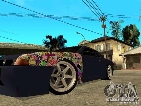 Elegy JDM para GTA San Andreas traseira esquerda vista