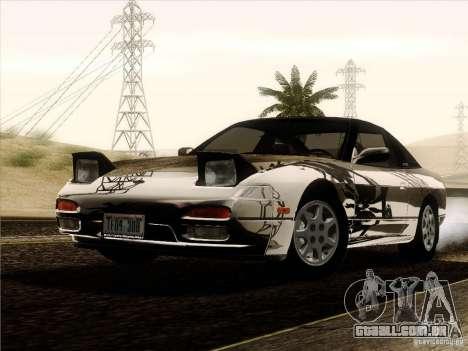 Nissan 240SX S13 - Stock para GTA San Andreas vista inferior